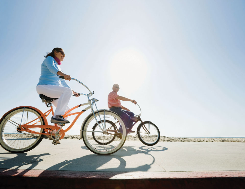 60 is the new 40: Enjoying a healthy, active lifestyle